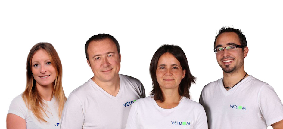 4 vétérinaires VETDOM