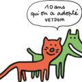 10 ans ! 2008-2018: Vetdom, vétérinaires à domicile,  a 10 ans !