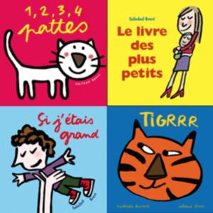 Couvertures de livres jeunesse de Soledad Bravi