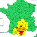 Inondations Aude 15/10/2018 : infos VETDOM temps réel