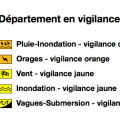 Vigilance orange Aude 23/10/2019