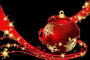Calendrier de l' Avent VETDOM, boule de Noël