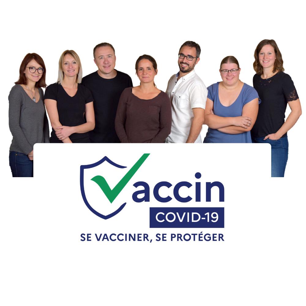 Tous les vétérinaires VETDOM sont vaccinés contre le Covid19